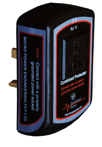 Combined surge protector <br> (Power & RJ11 Line)